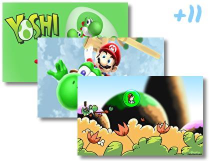 Yoshi theme pack