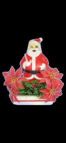 Santa Centerpiece photo