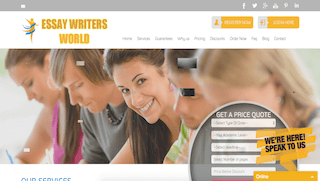 essaywritersworld.com main page