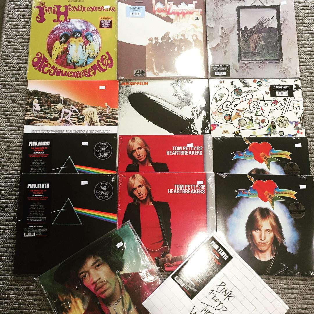 Tom Petty, Jimi Hendrix, Led Zeppelin, The Cure & more!
