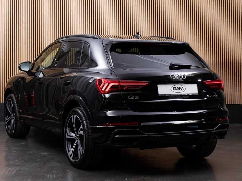 """Audi Q3 45 TFSI e S Edition 20"""", B&O, PANO, LED, B&O, S-LINE afbeelding 5"""