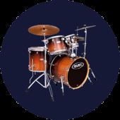 Perkusja Mapex ProM / Yamaha Stage Custom