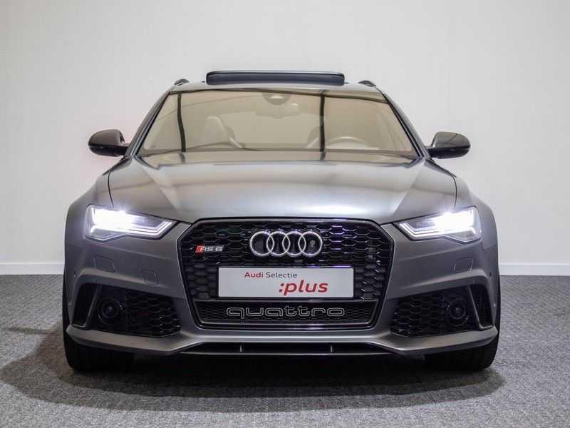 Audi A6 Avant 4.0 TFSI RS6 quattro perfomance | Dynamiekpakket plus | Carbon Optiek | B&O advanced | RS-sportuitlaat | DAB+ | Head-up display | Alcantara Hemel | Pano dak | Nachtzicht | afbeelding 19