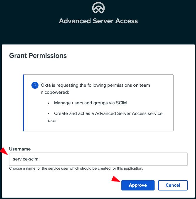 ASA grant permission