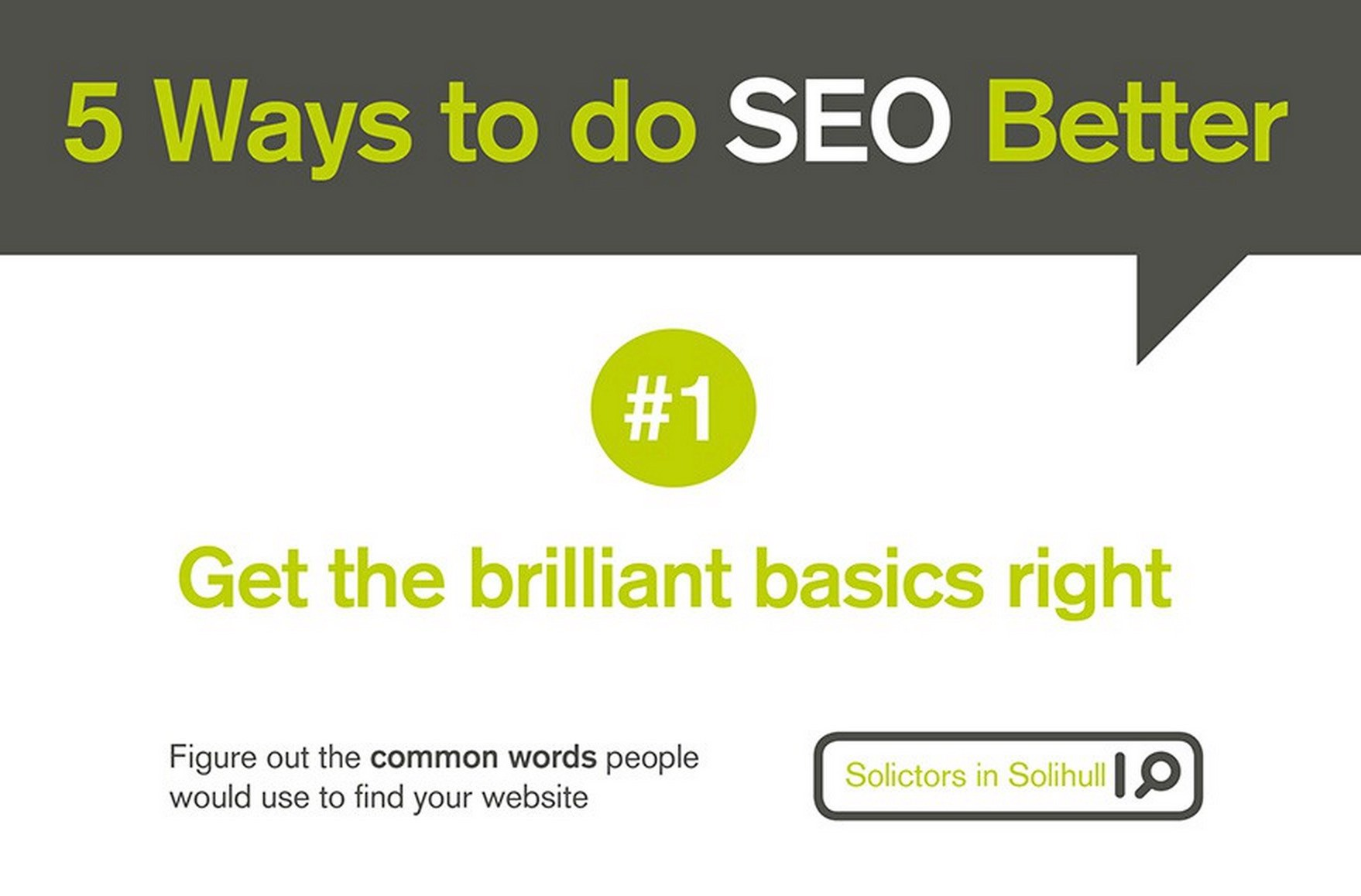Small Business? Here's 5 Ways You Can Be Better at SEO