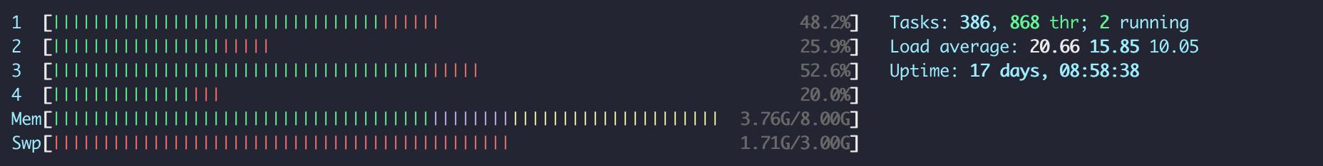 Single-process script