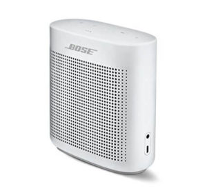 Bose SoundLink Color II Bluetooth Speaker, Polar White, with Portable Hardshell Travel Case