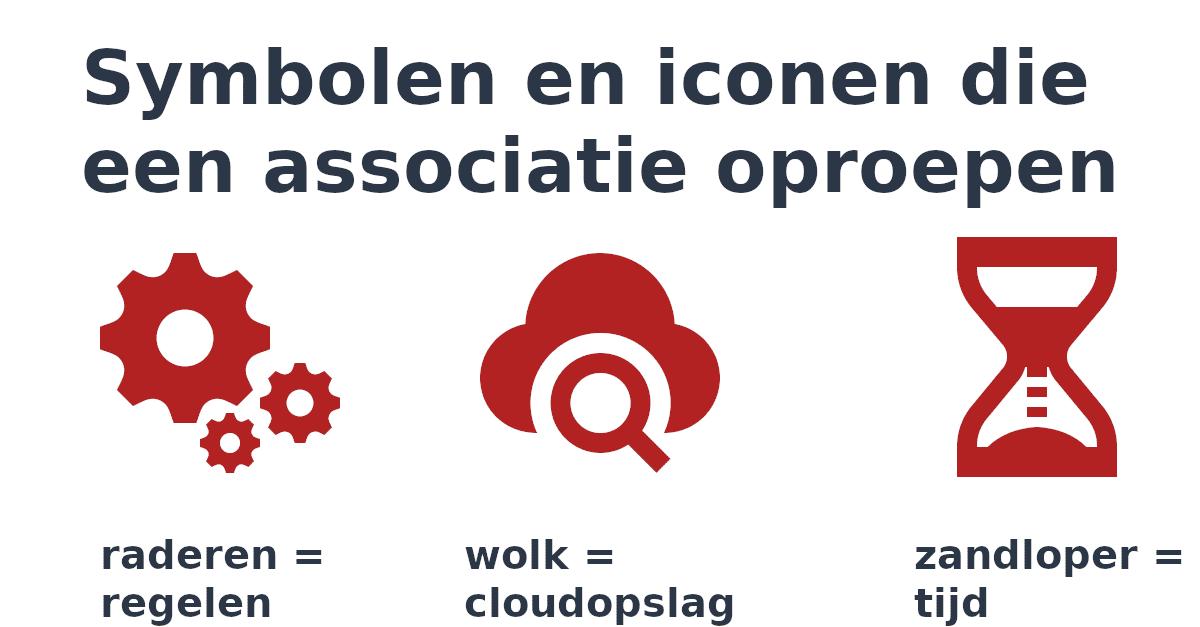 """""""symbolen en iconen, die meteen een associatie oproepen - Utrecht social selling"""""""