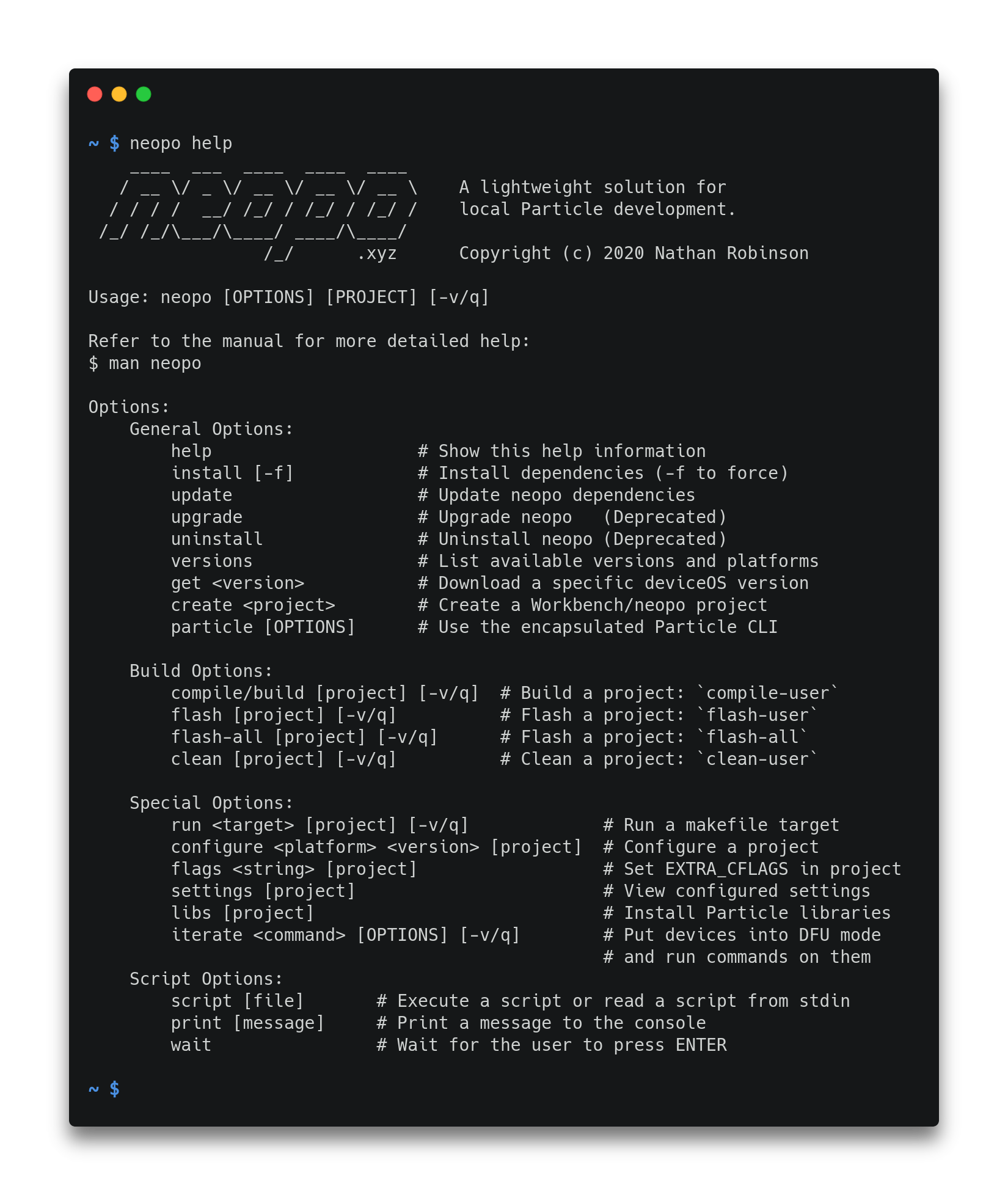 Neopo Screenshot