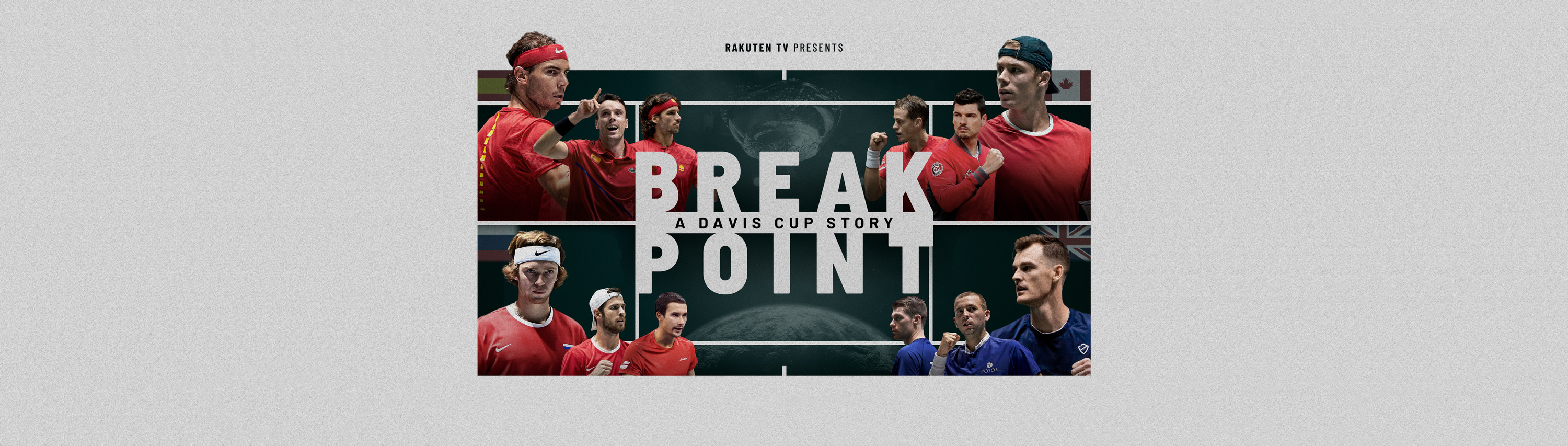 Rakuten TV presenta 'Break Point: A Davis Cup Story'