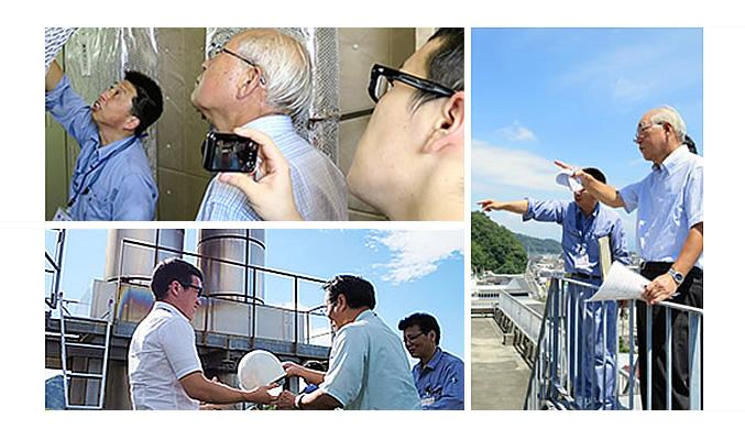 太陽技研業務の様子