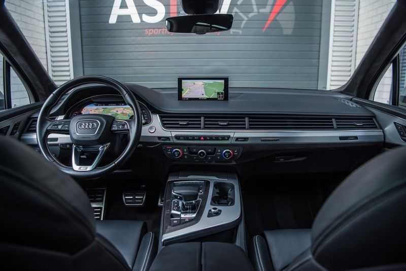 Audi SQ7 4.0 TDI Quattro Pro Line + , 435 PK, Valcona/Leder, Pano/Dak, 2017, Bose, 22'', Elekt. Trekhaak, 79DKM!! afbeelding 16