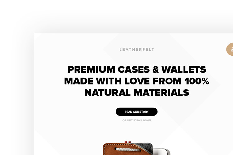 Leatherfelt e-commerce