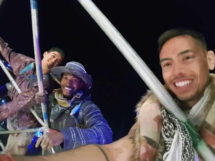Burning Man Top of Thunderdome