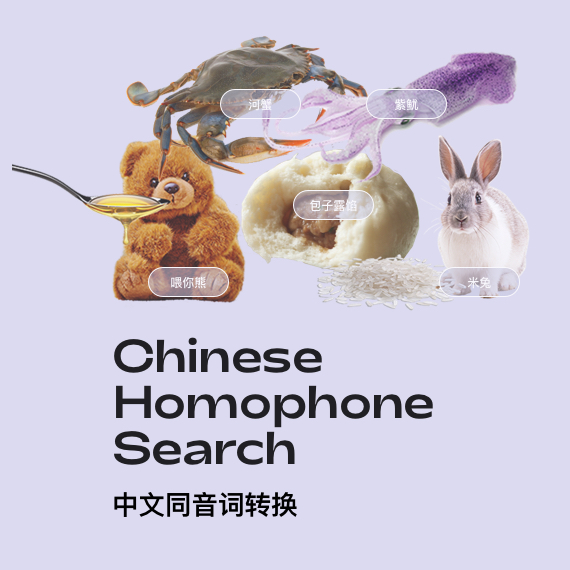 Chinese homophone
