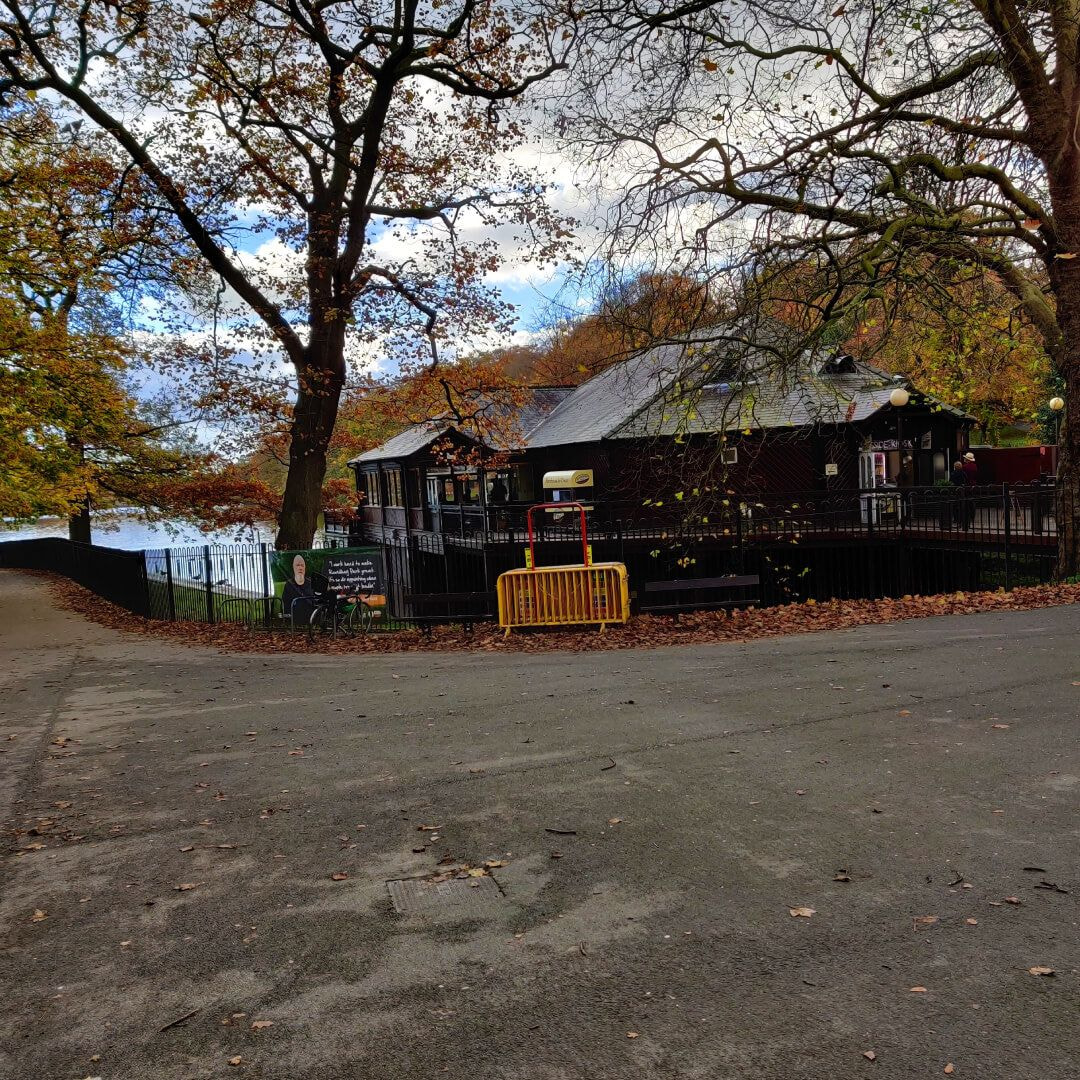 Cafe at Roundhay Park