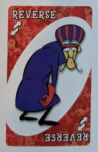 Hanna Barbera Red Uno Reverse Card
