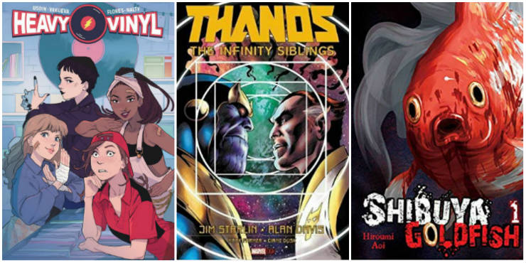 Heavy Vinyl, Thanos: The Infinity Siblings, Shibuya Goldfish