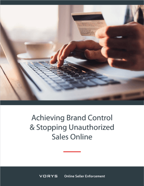 Achieving Brand Control & Stopping Unauthorized Sales Online