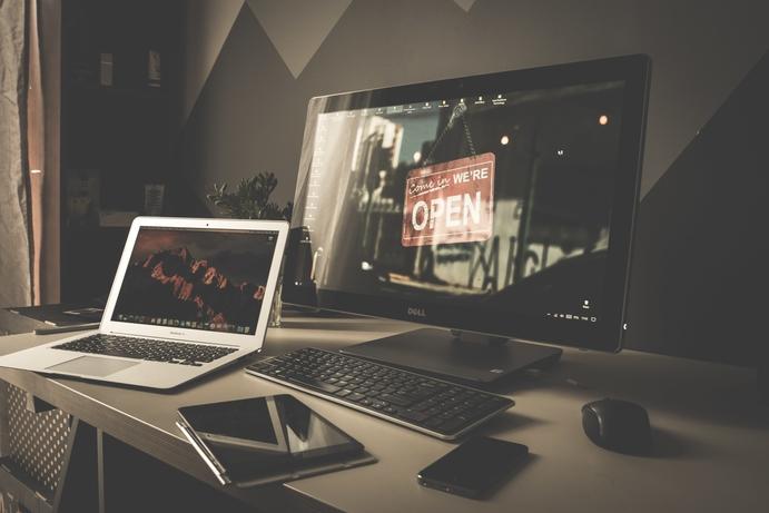 Sepia Desk