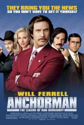 cover Anchorman: The Legend of Ron Burgundy