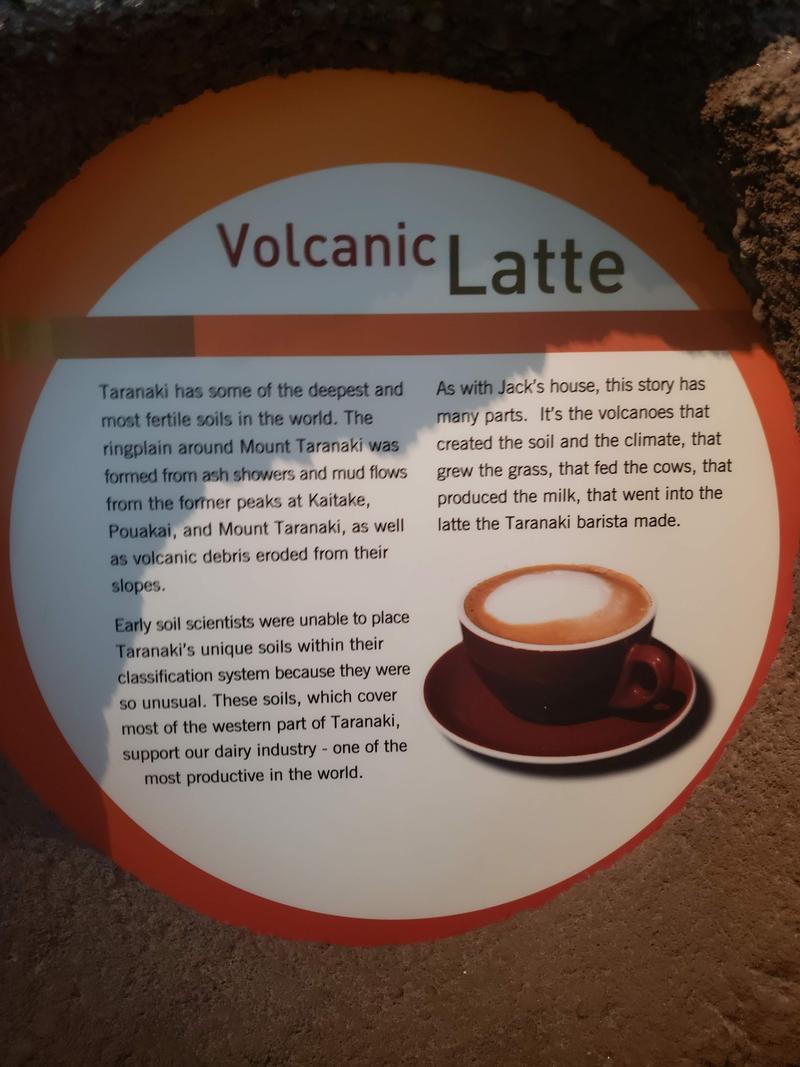 Mt Taranaki last erupted 250 years ago