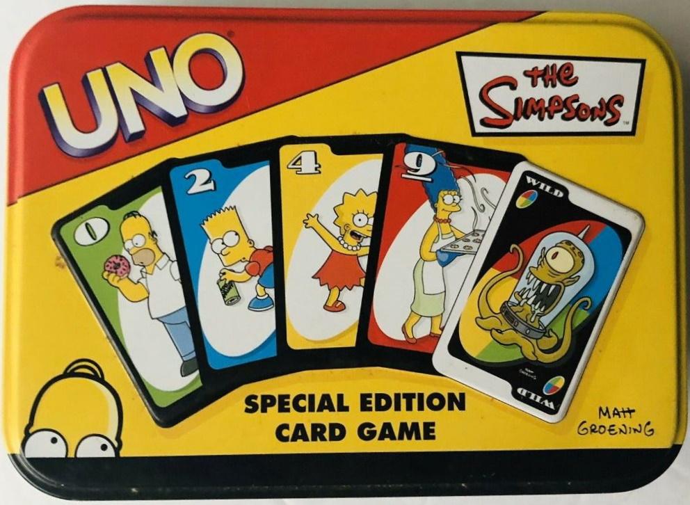 Simpsons Uno (2003)
