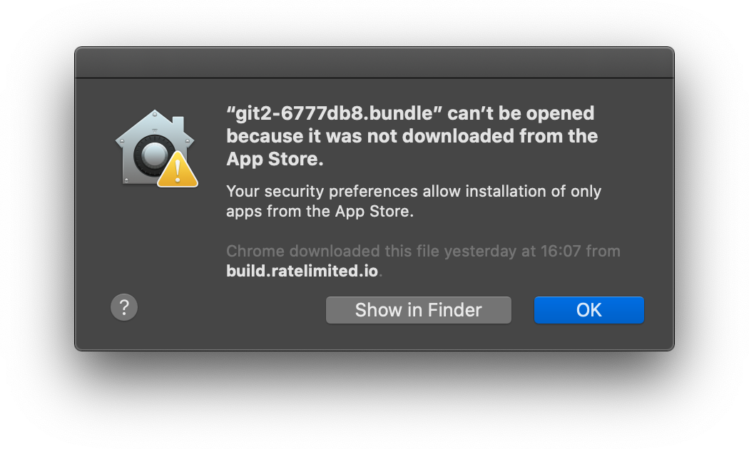 MetaBuddy Error Not From App Store