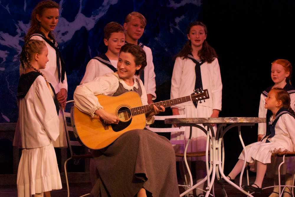 Sam as Maria in The Sound of Music