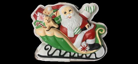 Santa in Sleigh photo