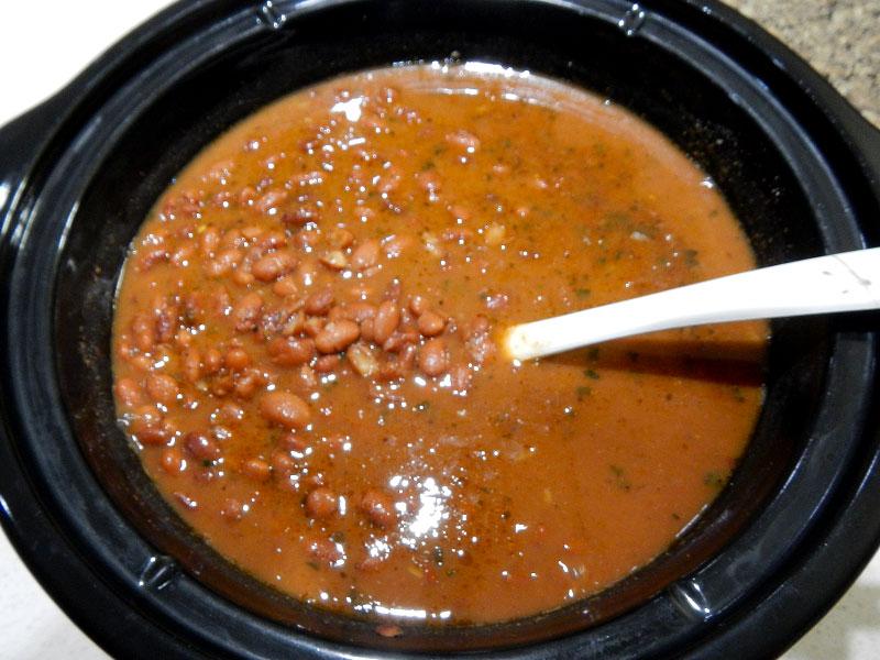 Finished Basic Pinto Beans