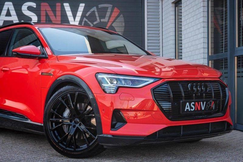 Audi e-tron 55 Quattro Advanced Exterieur, 408 PK, 4% bijtelling, Head/Up display, Pano/Dak, Night/Vision, S-line interieur, 15DKM afbeelding 21