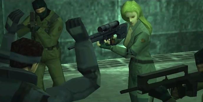Metal Gear Solid, PSX, Sniper Wolf