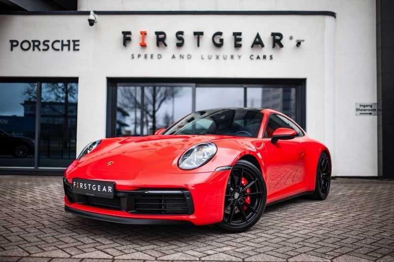 Porsche 911 992 3.0 Carrera 4S *BOSE / Adap. Sportstoelen / Memory / Sport Chrono / Sportuitlaat*