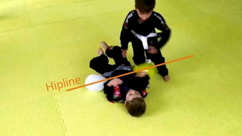 Making Danaher's gurad passing concepts available to kids by strapping ballons to their hipline