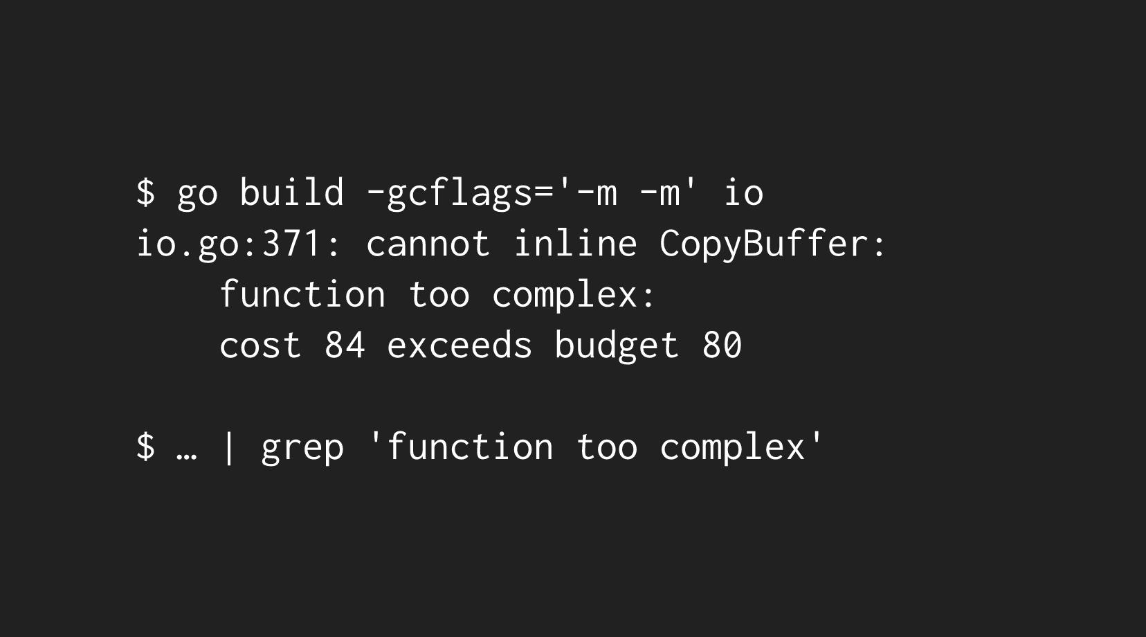 compiler inlining