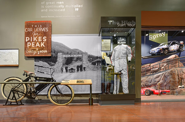 Pikes Peak Hill Climb Experience Museum artifacts