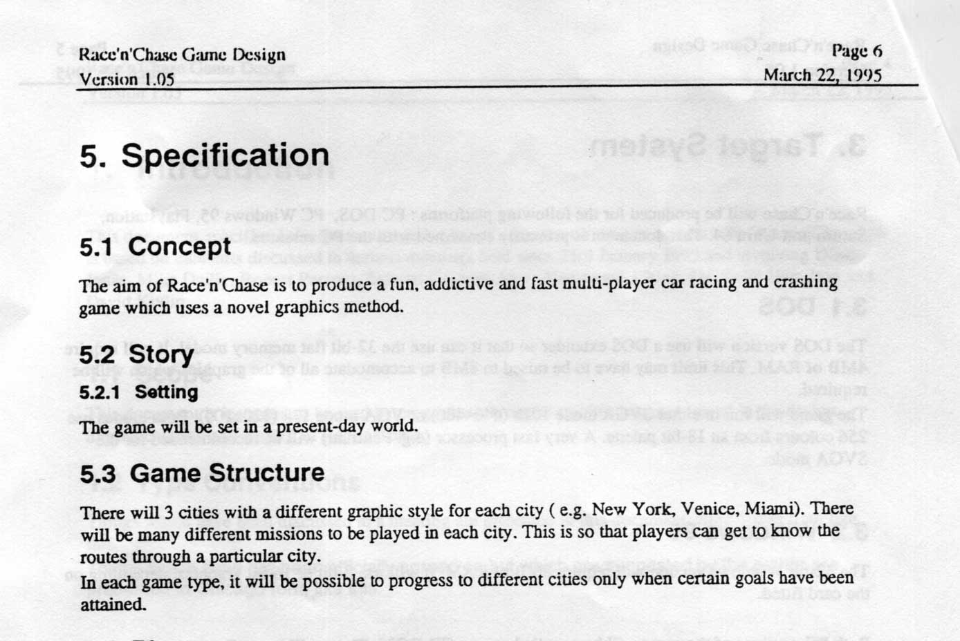 Game design document sample