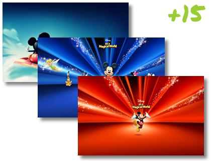 Mickey Mouse theme pack