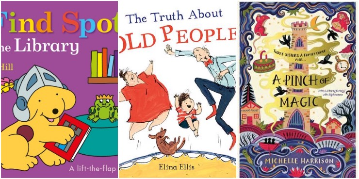 Find Spot at the Library, The Truth About Old People, A Pinch of Magic