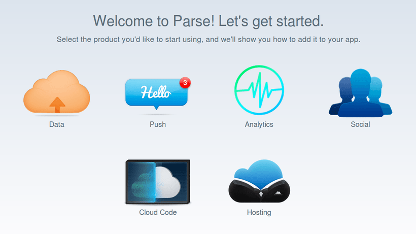 Welcome Parse