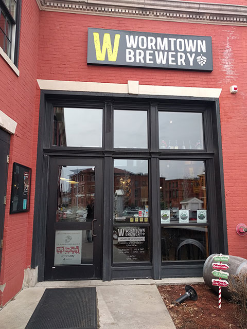 Wormtown Brewery in Worcester, MA