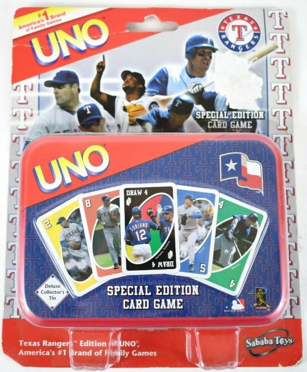 Texas Rangers Uno (2005)