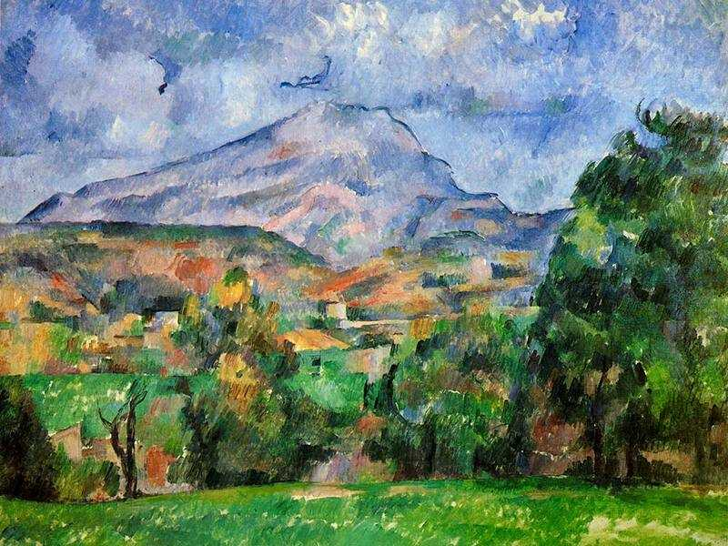 Cezanne produced over 80 canvasses of Mont St-Victoire from the early 1880s