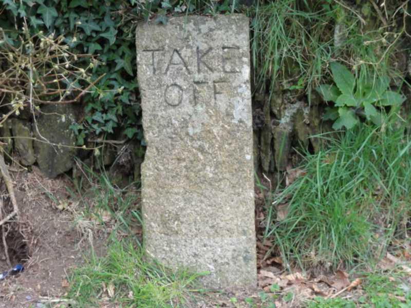 Take off Marker Post