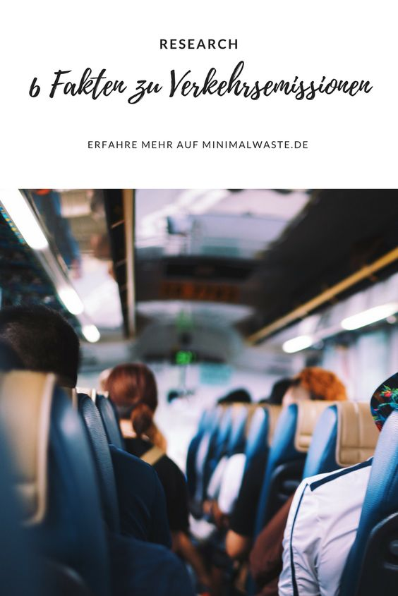Pinterest Cover zu '6 Fakten zu Emissionen des Personen- und Güterverkehrs'