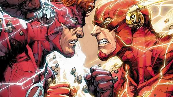 Wally West e Barry Allen se enfrentam na Guerra dos Flashes da DC Comics