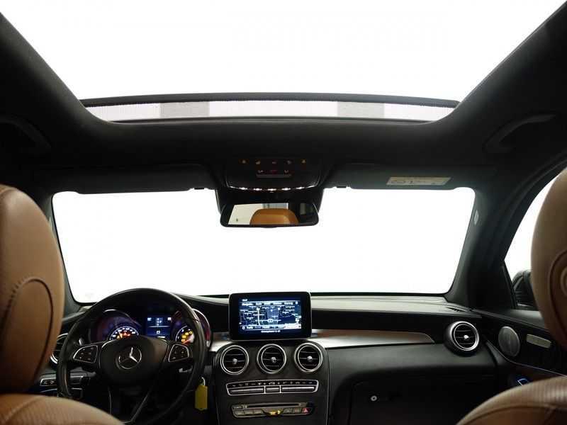 Mercedes-Benz GLC 250D 4MATIC 240PKpk 9G-Tronic AMG Edition- Panodak, Burmester, Leer afbeelding 5