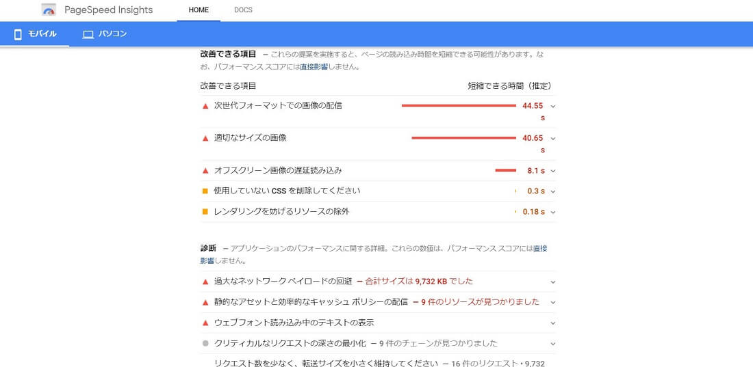 PageSpeed Insights4