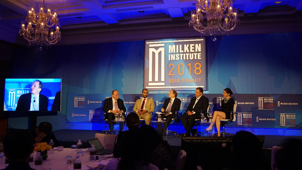 Milken Institute Asia Summit 2018 during the 'Smarter Cities for a Smarter World' panel discussion